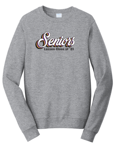 LASSEN HIGH - CLASS OF 2021 - Sweatshirt