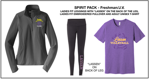 LHS VOLLEYBALL - Spirit Pack
