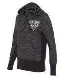 NIGHTHAWKS SOCCER - Ladies Zip Up Hoodie