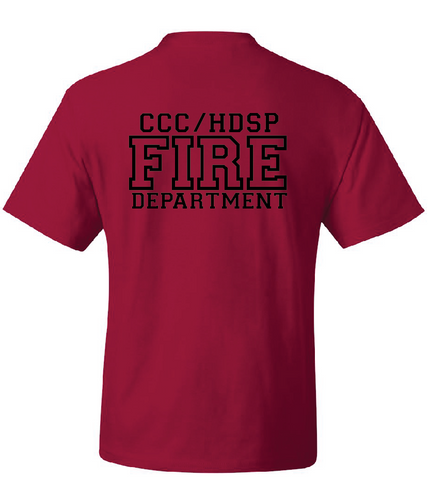 CCC/HDSP Fire Dept. Red Friday - TEE