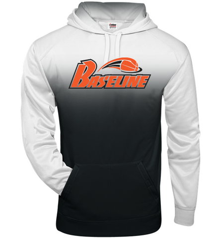 BASELINE BASKETBALL - YOUTH OMBRE HOODIE