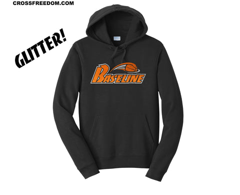 BASELINE BASKETBALL - YOUTH GLITTER HOODIE