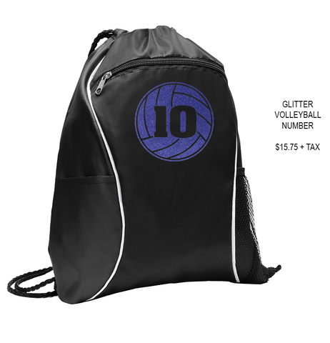 DIAMOND VIEW VOLLEYBALL - Drawstring Bag