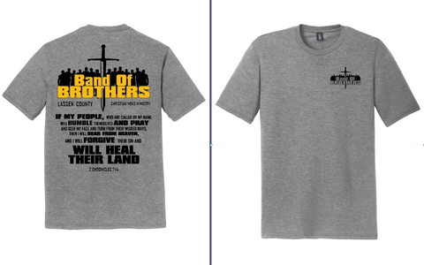 Band Of Brothers - MENS T-SHIRT - GRAY