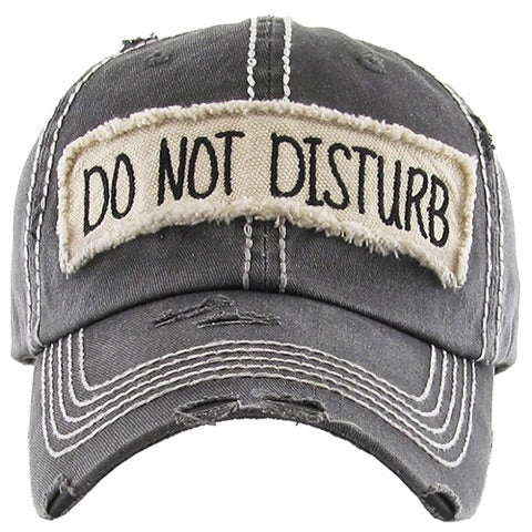 Do Not Disturb - adjustable cap