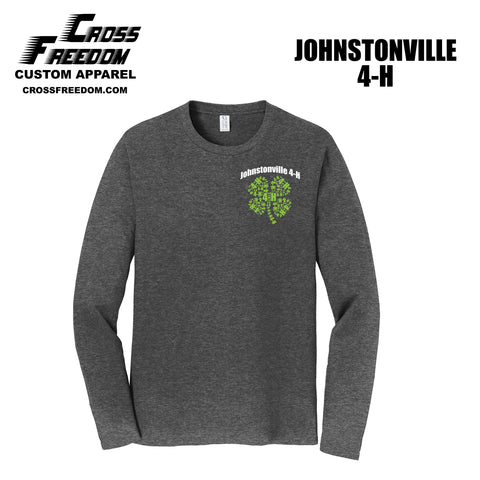 Johnstonville 4-H - ADULT Long Sleeve Cotton Tee