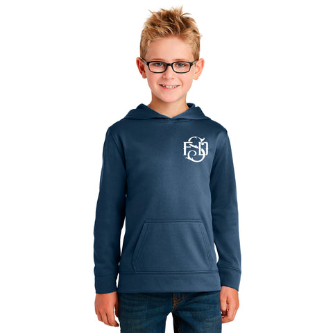 Susanville Fire Department - Performance Fleece Pullover Hoodie *YOUTH*