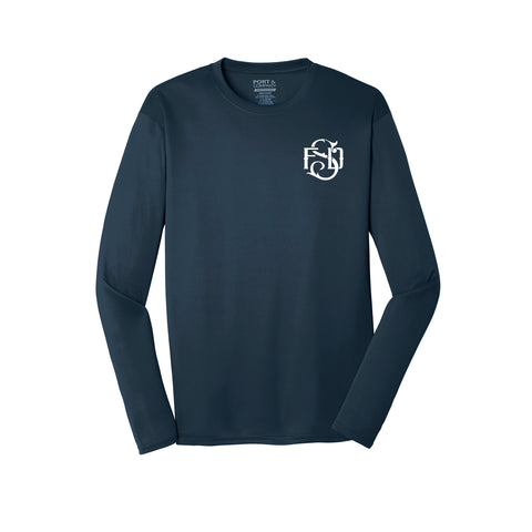Susanville Fire Department - Port & Company® Long Sleeve Performance Tee