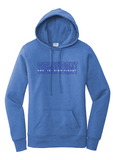 She Is Significant - Pullover Hoodie - Blue Heather