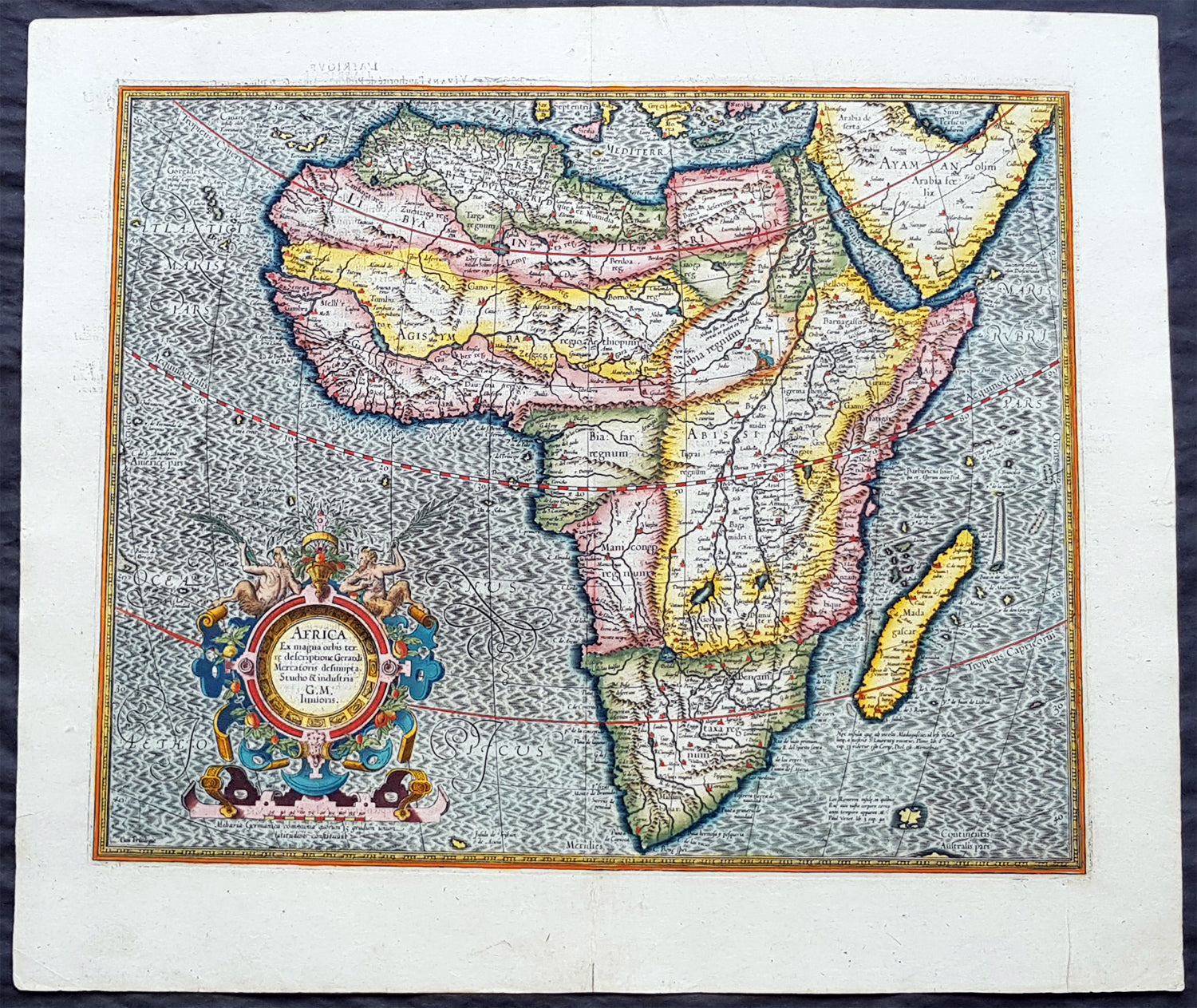 1613 Gerard Mercator Large Antique Map of Africa - Africa Ex Magna on map of sz, map of sh, map of ei, map of mh, map of gh, map of ke, map of re, map of air force bases overseas, map of asia, map of gl, map of afganis, map of cl, map of africa, map of ci, map of ggc, map of ic, map of sn, map of spangdahlem air force base, map of afr, map of ta,