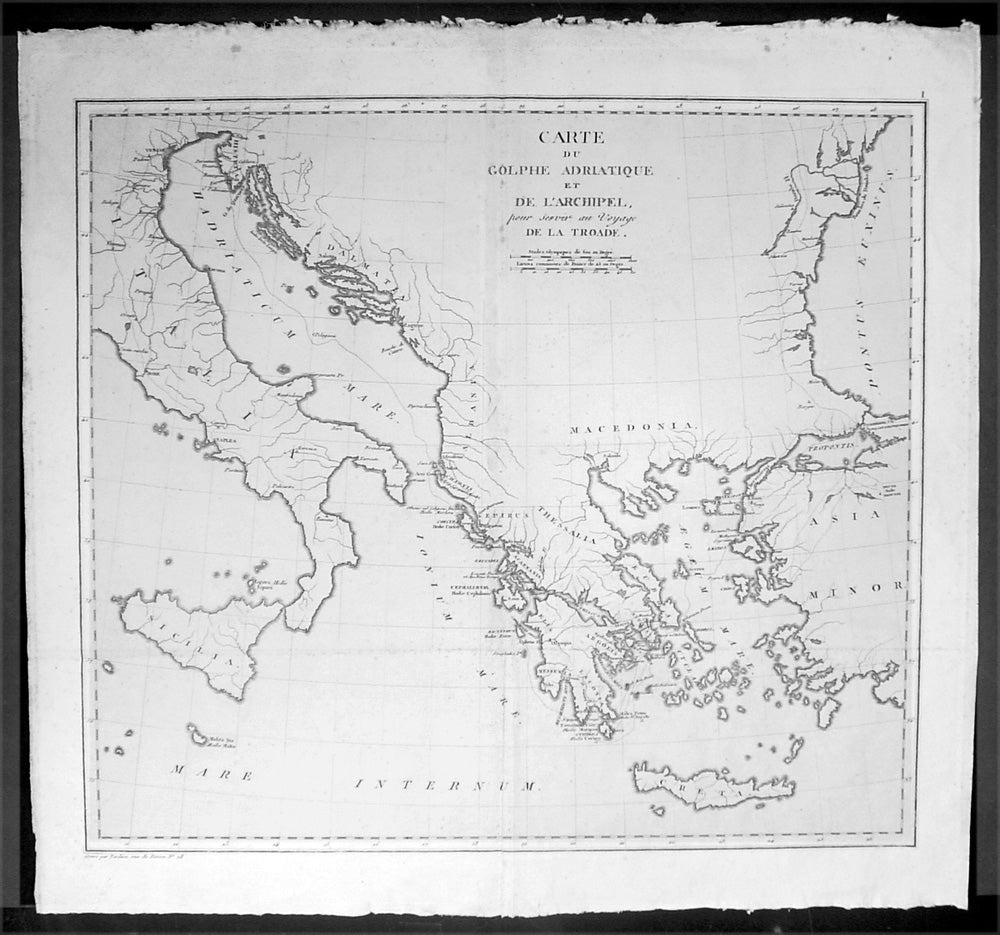 1802 lechevalier antique map of italy greece turkey troy 1802 lechevalier antique map of italy greece turkey troy gumiabroncs Images