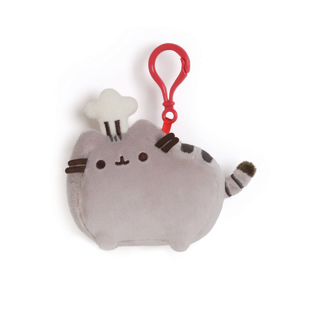 Pusheen Chef Backpack Clip 4.5""