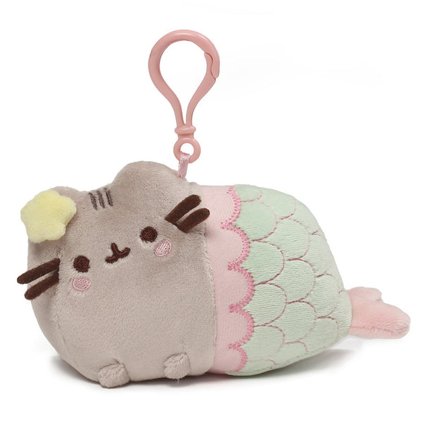 Pusheen Mermaid Backpack Clip 4.5""
