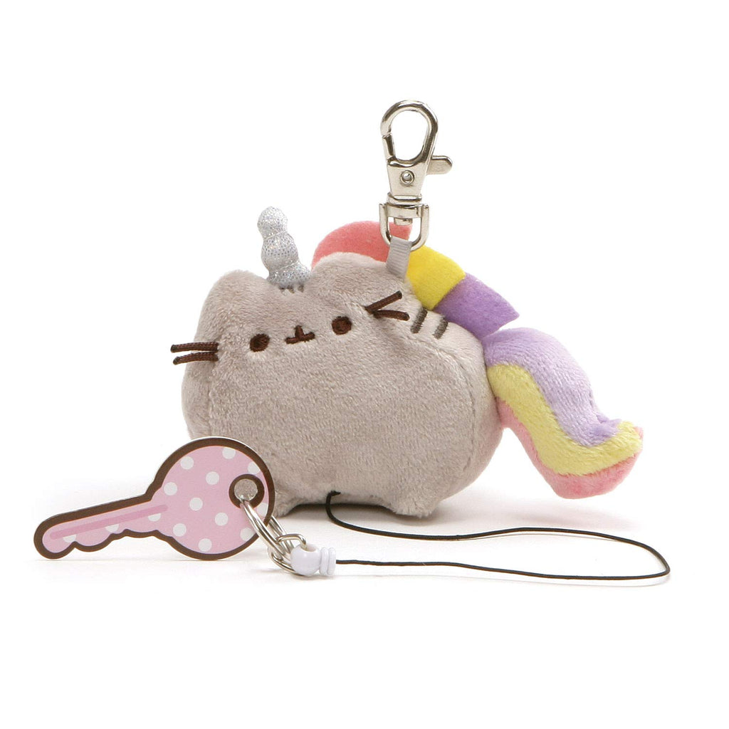 Pusheenicorn Retractable Key Holder, 2.5""