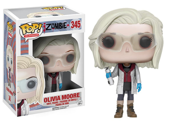 "POP! TV iZombie ""Olivia Moore with Glasses"" Vinyl Figure"