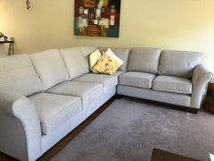 Customer image of the Chloe sofa as a corner suite