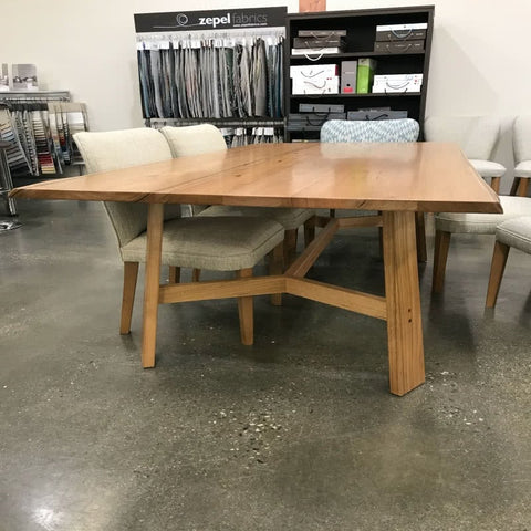 Otway dining table floor stock clearance
