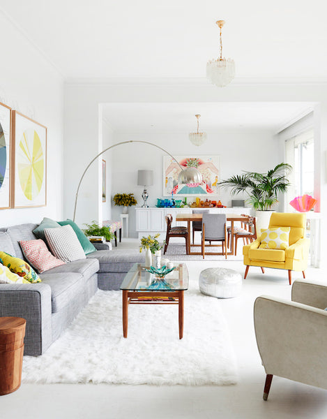 Update your living room for spring