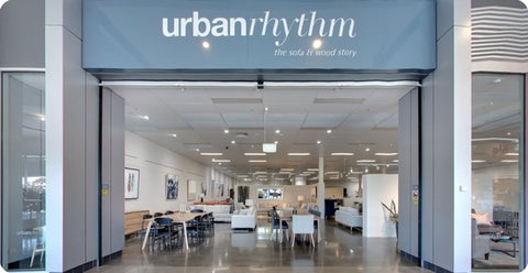 Urban Rhythm Nunawading furniture store front entrance