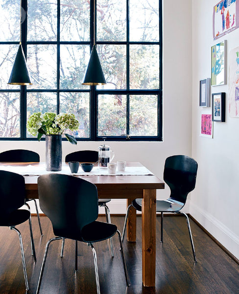 Family Rooms We Love: 12 Family Friendly Dining Rooms We Love