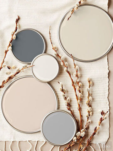 Neutral paint palette for your home