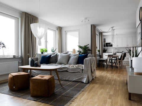 Family apartment in neutral tones