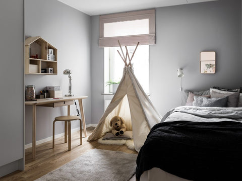 Neutral house tour - bedroom