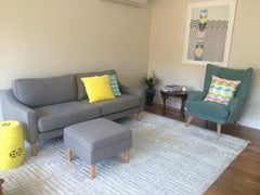 Customer - Jen's Living Room with Malmo sofa