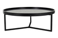 Tivoli Round Coffee Table - Black