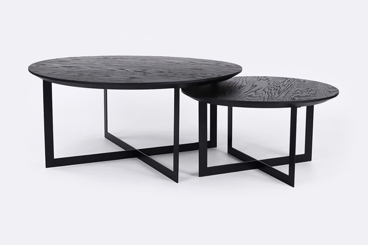 Picture of: Harry Nest Coffee Tables Black Urban Rhythm