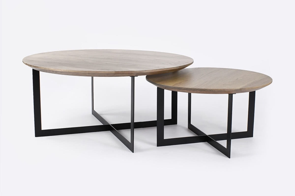 Picture of: Harry Nest Coffee Tables Smoked Oak Urban Rhythm