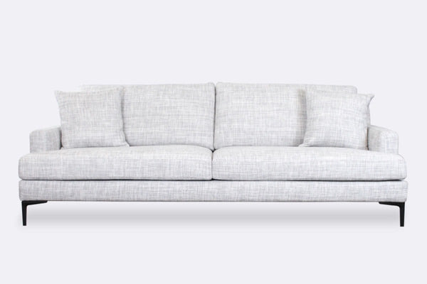 Zane Sofa - 3 Seater - Whisper