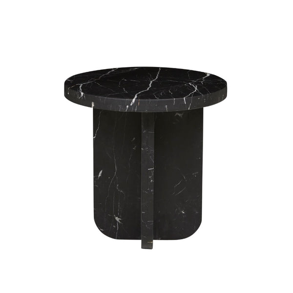 Amara Curve Marble Side Table