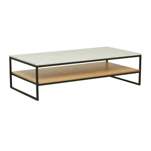 Baxter Marble Shelf Coffee Table