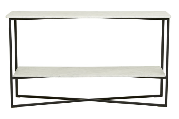 Elle Luxe Marble Console Table