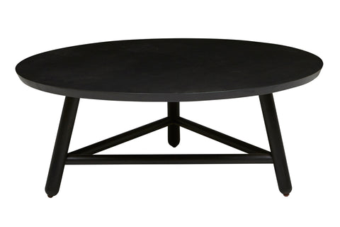 Linea Tri Base Coffee Table - Black