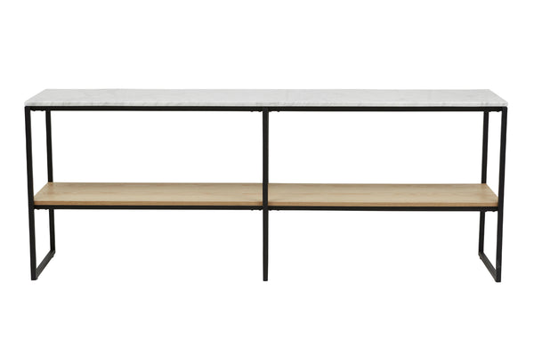 Baxter Marble Shelf Console