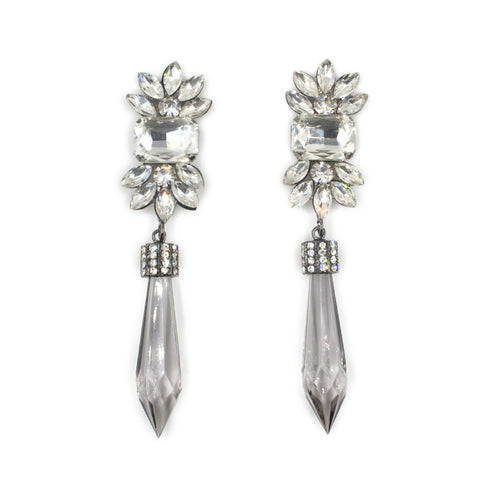 Glass Crystal Earrings - Dottie D Shopping