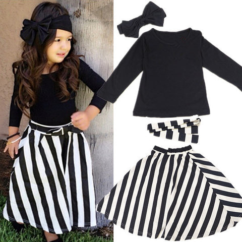 Black & White Clothing Set - Dottie D Shopping