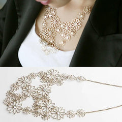 Image of Camella Flower Choker Necklace