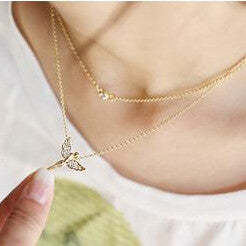Angel Figure Necklace - Dottie D Shopping