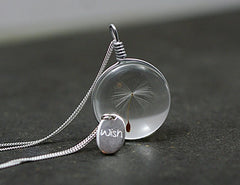 Dandelion Wish Necklace - Dottie D Shopping