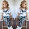 Image of Baby Girls Qoute Outfit Clothes - Dottie D Shopping