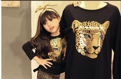 Leopard Printed Kids Clothes