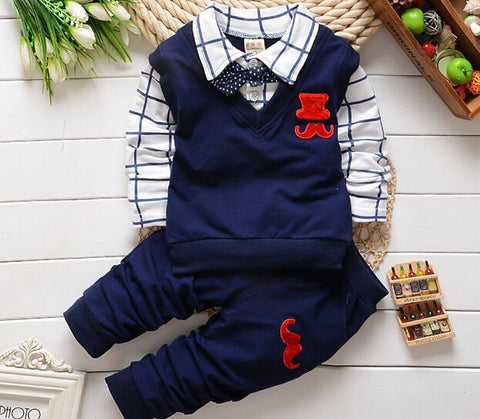 Gentleman Children Clothing Set - Dottie D Shopping