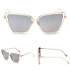 Image of Luxurious Metal Cat Eyeglasses - Dottie D Shopping