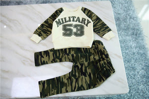 Military Casual Set - Dottie D Shopping