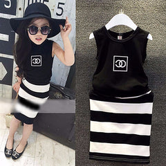 Black n' White Clothing Set - Dottie D Shopping