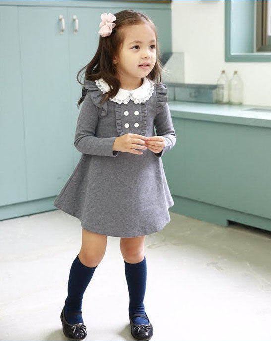 Doll Style Casual Dress - Dottie D Shopping