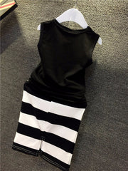 Black n' White Clothing Set